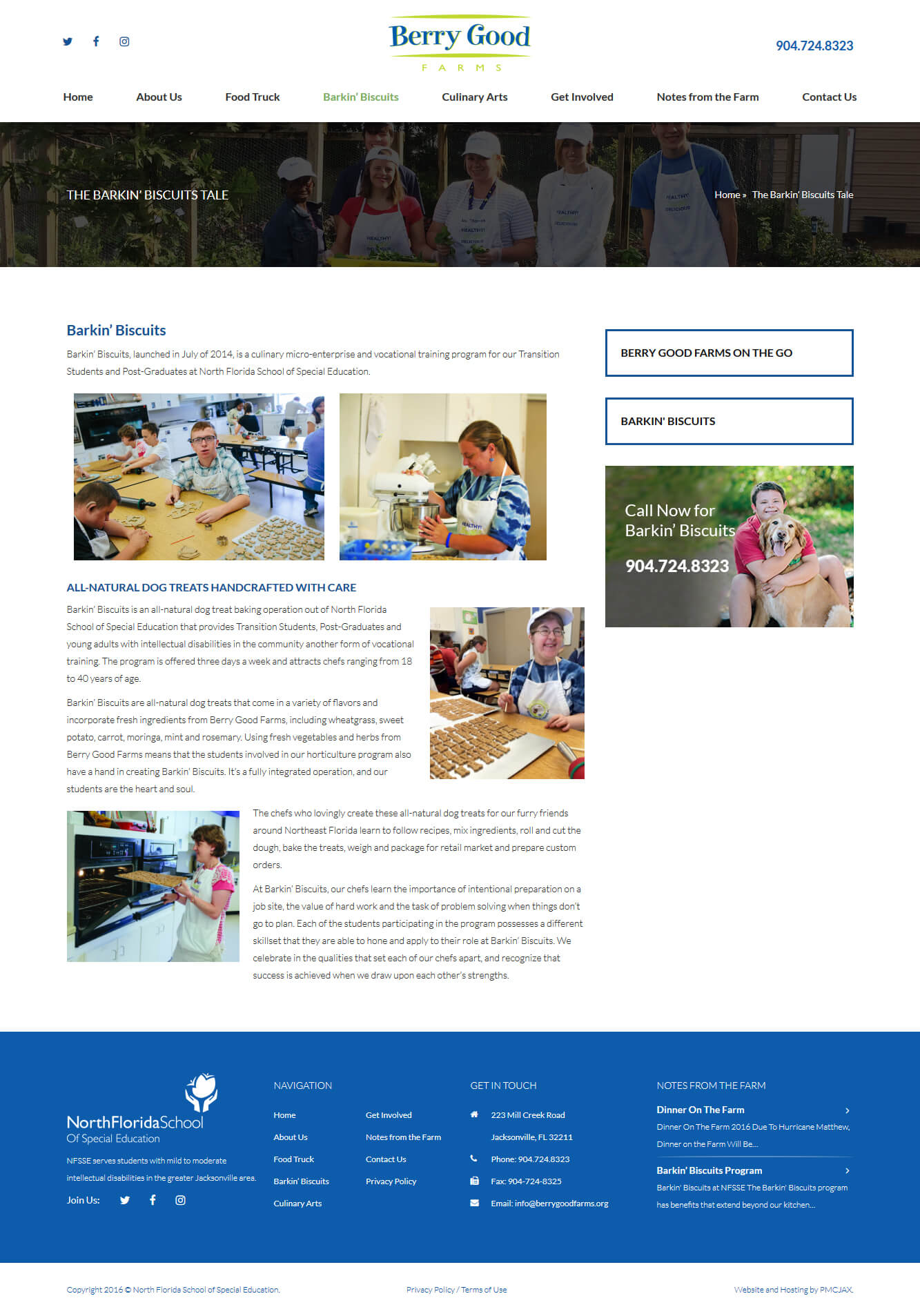 Website design for nonprofit organizations in Jacksonville FL