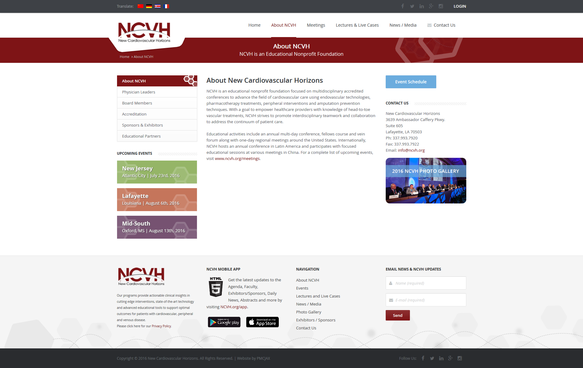 Nonprofit Foundation Medical Website Design