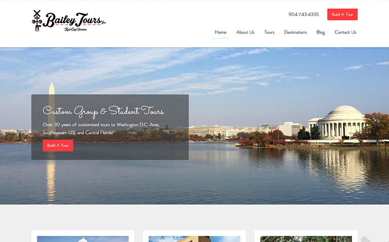 Small Business website design Jacksonville