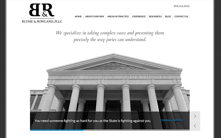 Law Firm Website Design Company Jacksonville FL