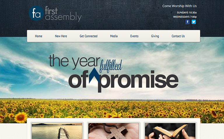 Church Website Design Jacksonville FL