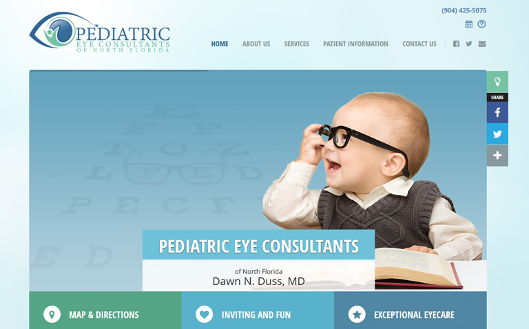 Medical Website Design Jacksonville FL