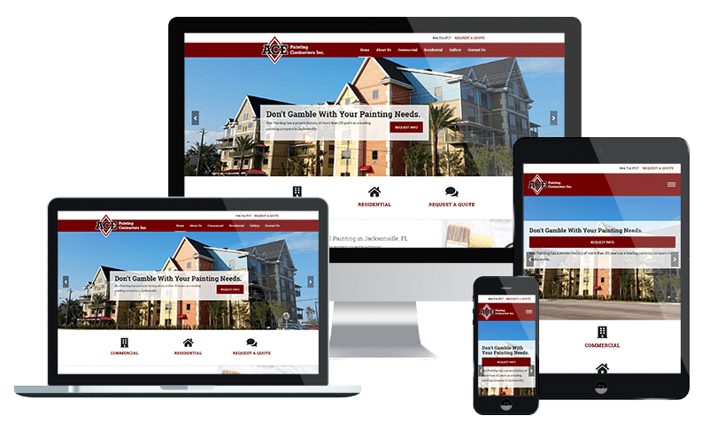 Small business website design company Jacksonville FL - PMCJAX local business web design experts