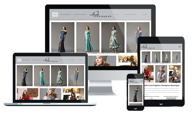 Clothing website design company in Jacksonville - designer women's clothing web development by PMCJAX