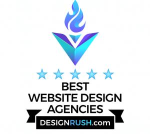 DesignRush ranks PMCJAX among top website design agencies in Jacksonville Florida