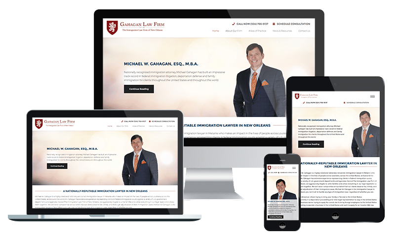 Jacksonville Law Firm website design agency - Law firm and lawyer SEO specialists at PMCJAX